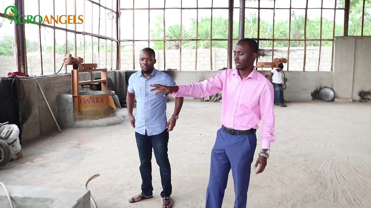 Meet The 28 Year Old Who Runs A Garri Processing Plant in Nigeria