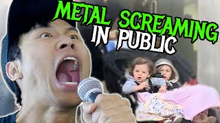 METAL SCREAMING IN PUBLIC: Suicide Silence