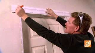 Home Depot: How to Install Door Trim