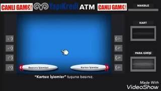 CanliGame.Com - YAPIKREDİ atm'den kartsız para yatırma
