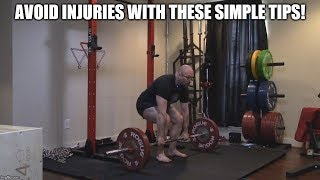 Client Tutorial - Fixing Arm Bend On The Conventional Deadlift!