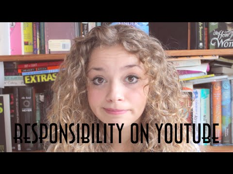 Responsibility On Youtube