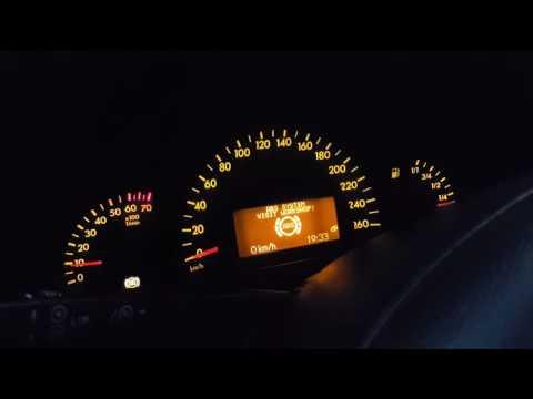 ПРОБЛЕМА Mercedes w203 C 180 Вентилятор работает постоянно