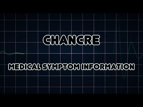 Chancre (Medical Symptom)