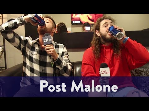 Backstage with Post Malone | KiddNation