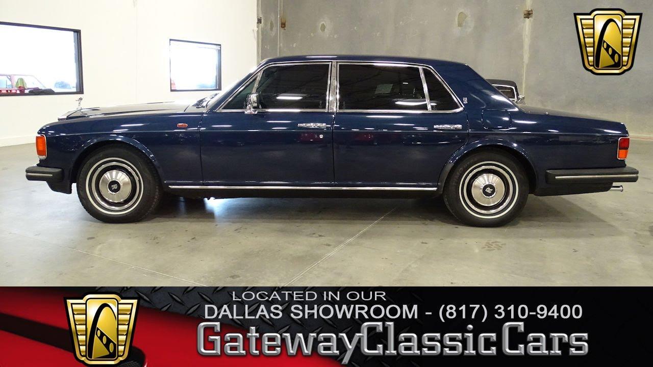 1985 rolls royce silver spur 453 dfw gateway classic cars for Rolls royce motor cars dallas