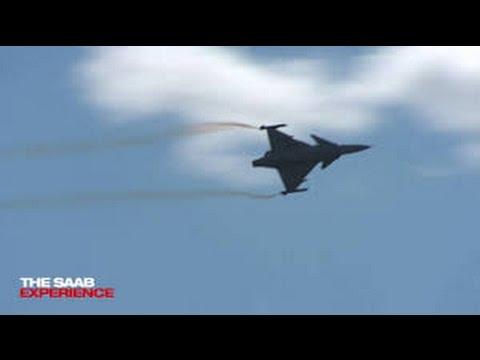 Air displays at the Swedish Air Defence days 2016 #SaabAB