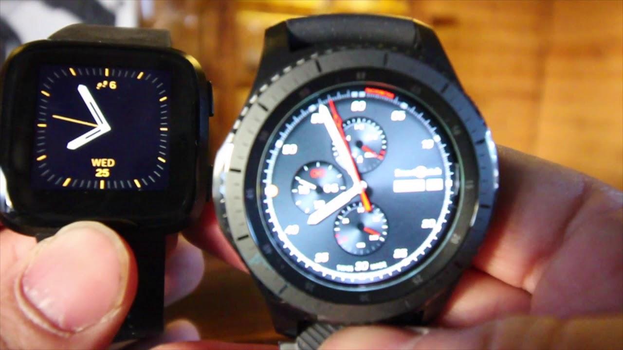 Fitbit Versa vs Samsung Gear s3 Frontier - Gadgets Networks