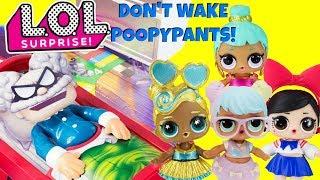 DONT WAKE POOPYPANTS! LOL Surprise Dolls DJ, Bon Bon, Genie, Fanime Game