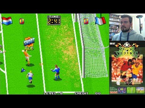 SUPER SIDEKICKS (Arcade / Neo Geo) - Un clásico de fútbol inolvidable || Gameplay en Español