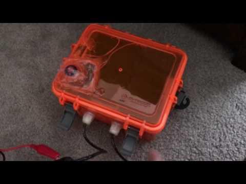 12V li-ion battery charging