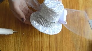 Мастер-класс Фетровая шляпка/цилиндр своими руками/ DIY  Felt hat for girls(В этом мастер-классе я покажу, как сделать своими руками замечательный праздничный аксессуар для маленькой..., 2016-08-18T08:53:24.000Z)