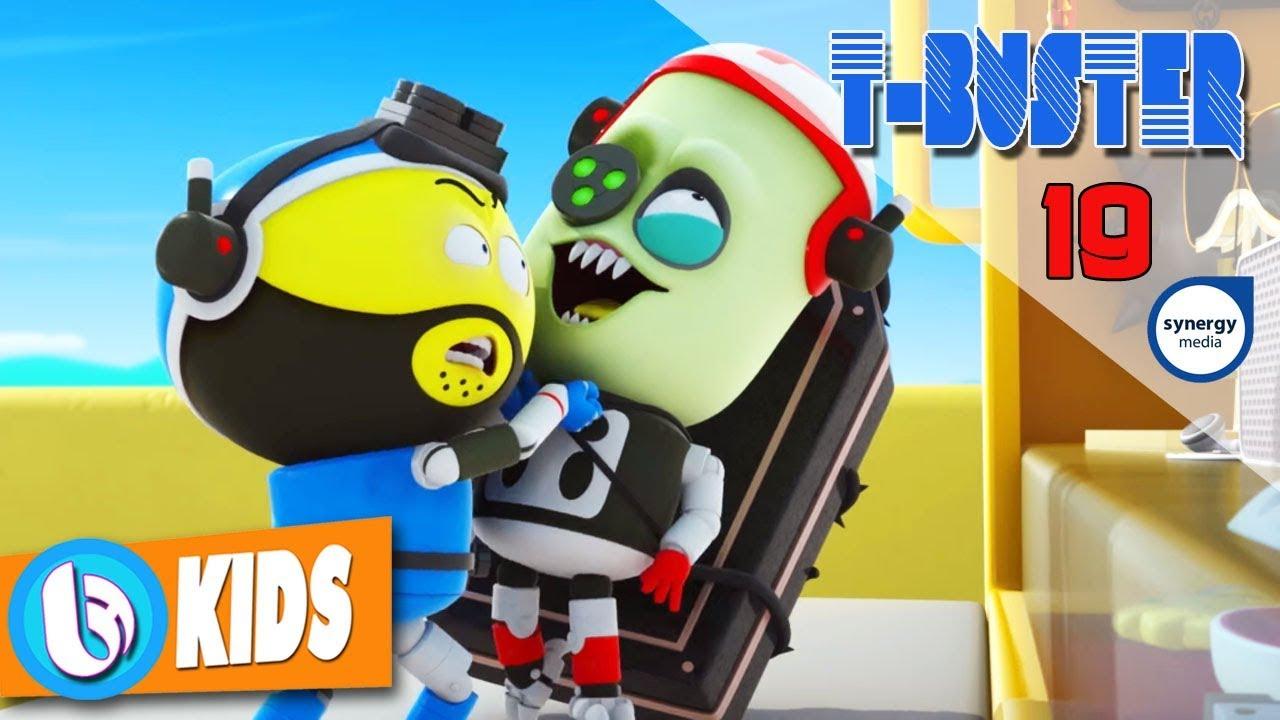 Phim Hoạt Hình Robot Người Máy T-Buster tập 19   Hoạt Hình 3D Vui Nhộn 2017 #1