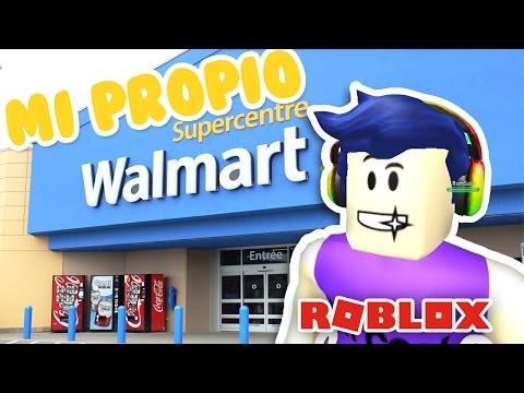 MI propio WALMART!! Retail Tycoon Roblox   Roblox en Español