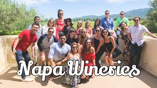 Napa Wine trip   Rutherford Hill and Robert Mondavi Wineries