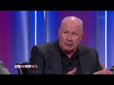 Liam Brady it was a really sad irish performance, we're in trouble