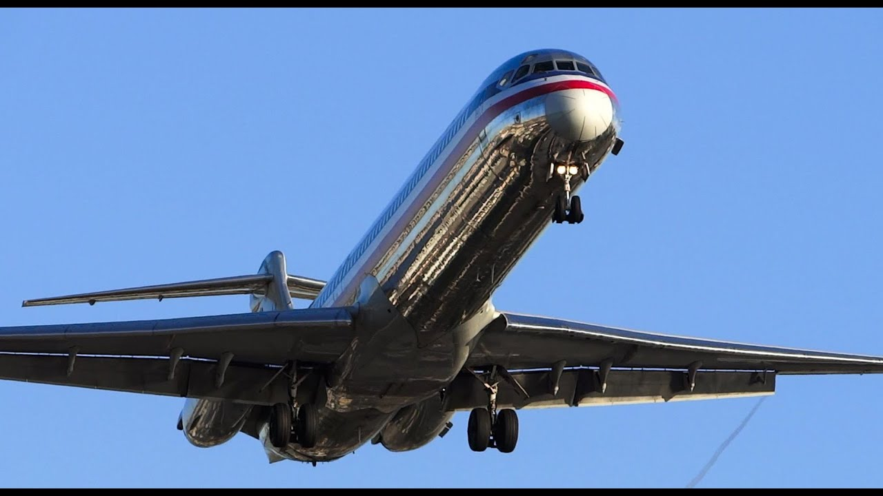 American Airlines Retira 20 Md 80