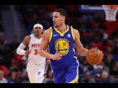 Golden State Warriors Vs Detroit Pistons NBA Game Highlight. Durant & Klay GO OFF!