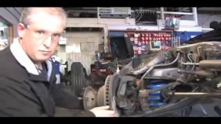 How To Install Coil Springs SuperSteer Motorhome Ride Height Eliminate Air Bags RV