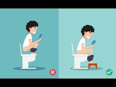 Right Way Of Sitting In Toilet | Correct Way Of Sitting On Western Toilet