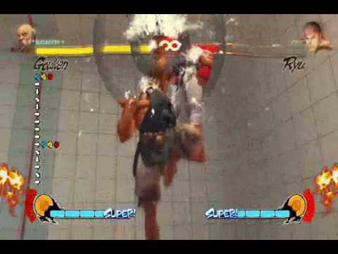 como hacer Ultra Combos Street Fighter IV