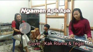 Gambar cover Ngamen Apik Apik 'Eny Sagita' Cover By Kak Risma & Tegar Gendang Cilik