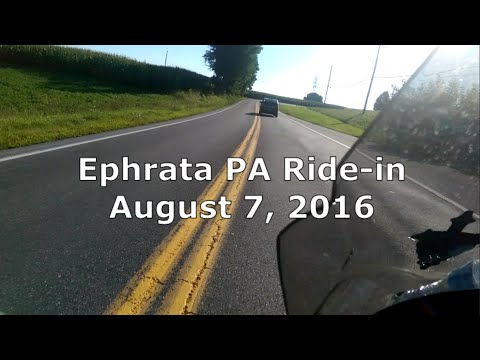 Ephrata PA First Sunday Ride-In August 2016