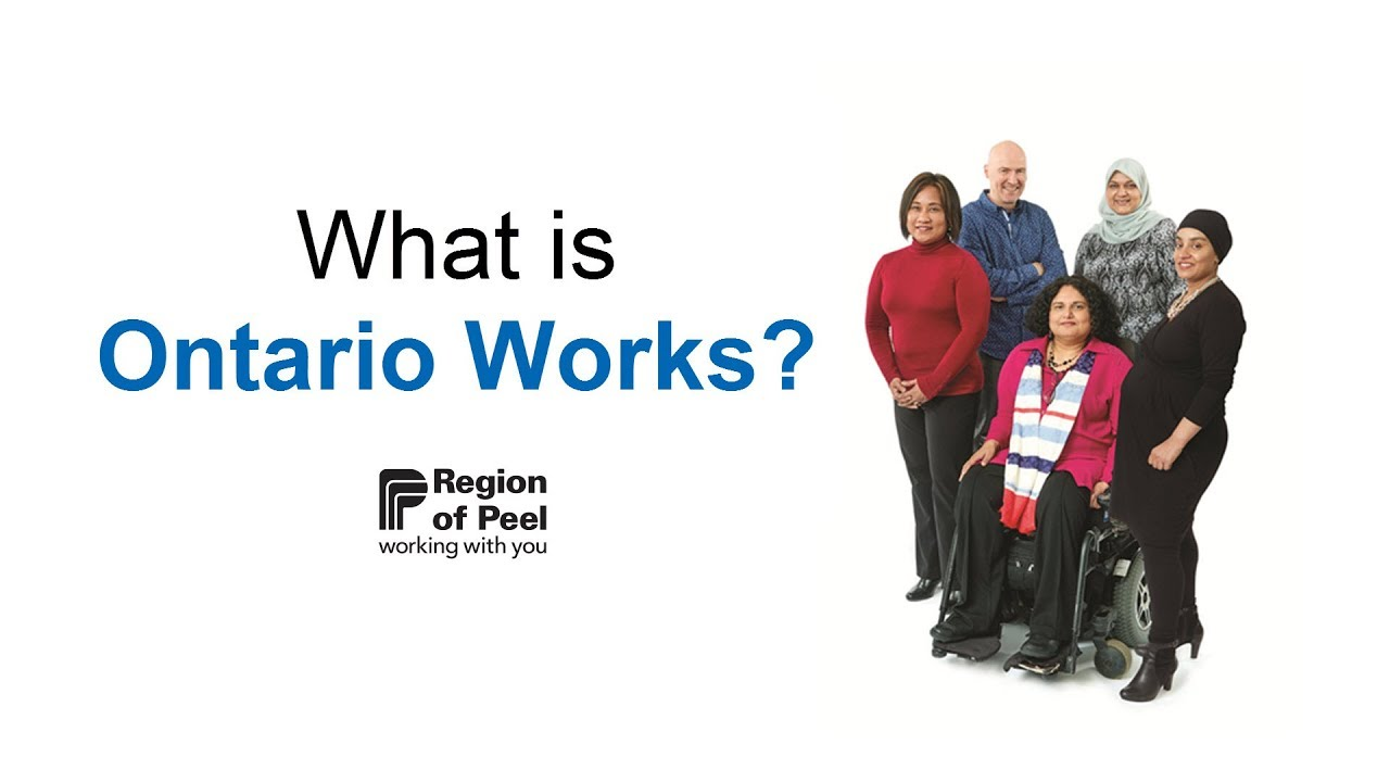 Apply for Ontario Works - Region of Peel