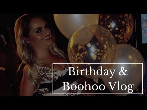 29th Birthday & BOOHOO #ALLGIRLS TV Advert Vlog | @tess.daly