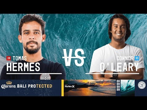 Tomas Hermes vs. Connor O'Leary - Round Two, Heat 12 - Corona Bali Protected 2018