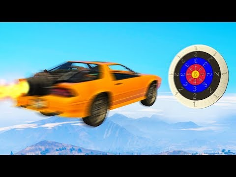 300MPH EXTREME VEHICLE DARTS! (GTA 5 Overtime Rumble DLC Funny Moments)