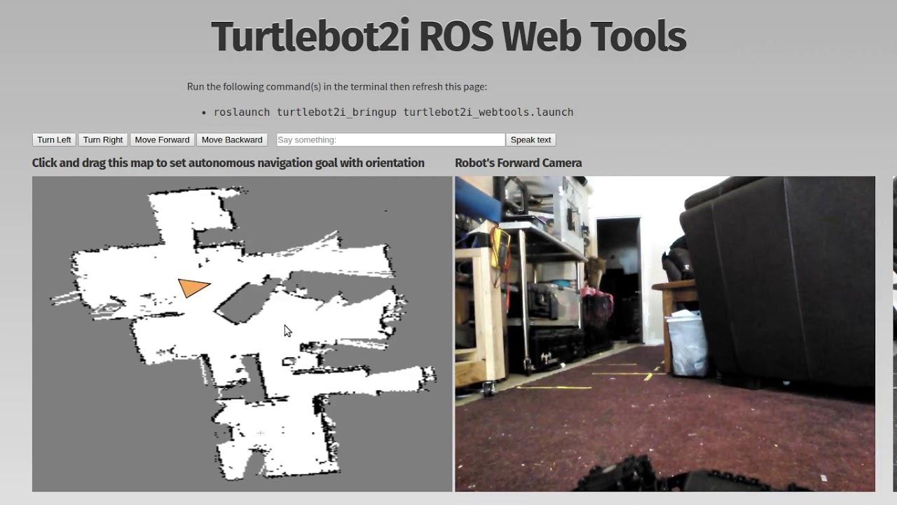 turtlebot2i webtools
