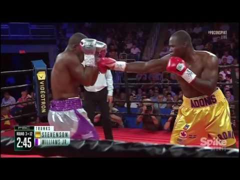 Adonis Stevenson (27-1) vs Thomas Williams Jr. (20-1) - 29 Jul 2016 - Full Fight