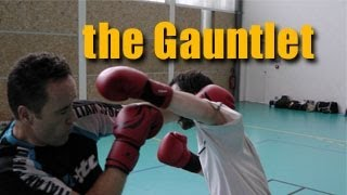 Jim Wagner my self-defense instructor: Walking the Gauntlet Drill