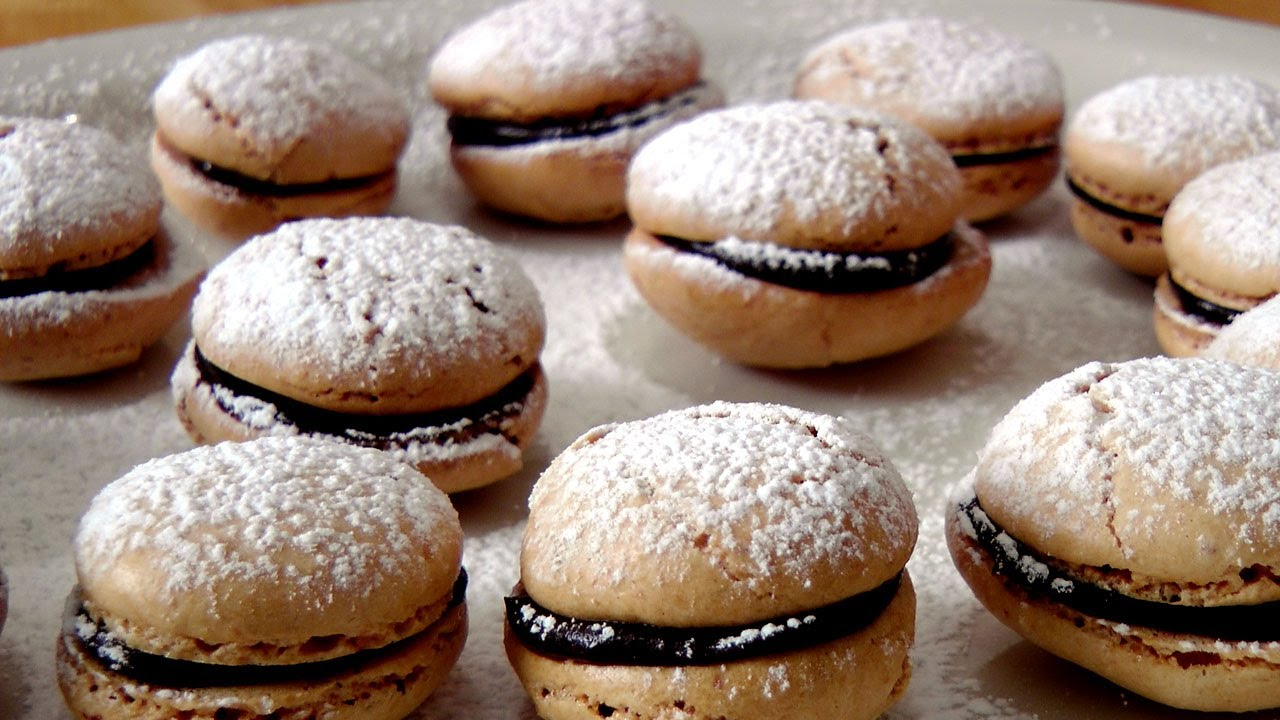 French Macarons - Recipe by Laura Vitale - Laura in the Kitchen ...