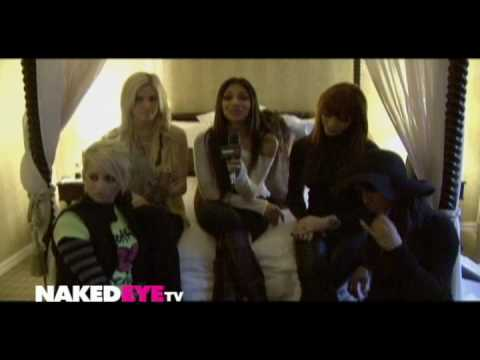 The Pussycat Dolls x Naked Eye (Interview 2009)