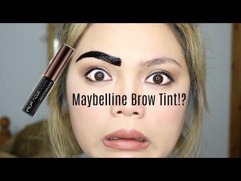 Maybelline Peel Off Brow Tint First Impression Review/Primark Haul