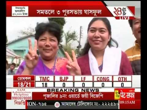 Discussion on : Result Of Seven Municipalities Election In West Bengal