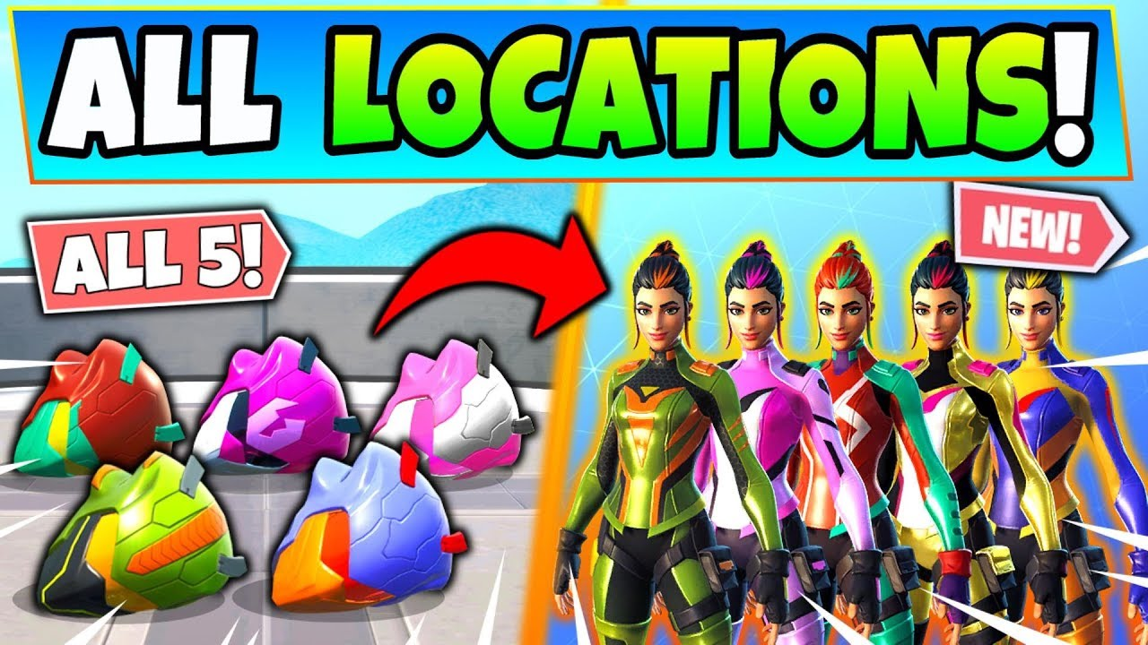 Fortnite Singularity Helmets Locations How To Unlock Singularity Styles Fortnite Challenges Youtube