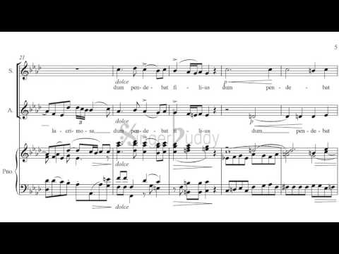 Pergolesi Stabat Mater piano accompaniment