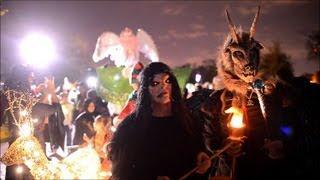 A l'approche d'Halloween, les monstres de sortie à Baltimore