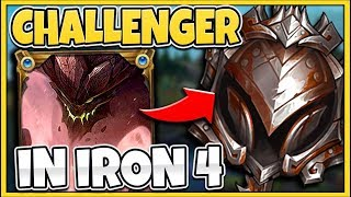 I WENT INTO IRON 4 FOR THE FIRST TIME EVER (ELO HELL EXISTS??) - League of Legends