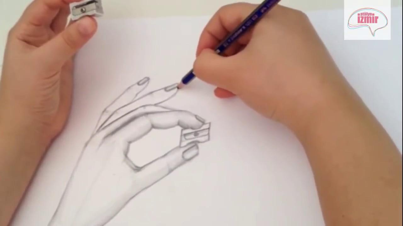Atölye Izmir Karakalem El çizimi Youtube