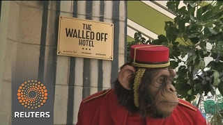 Welcome to the wall: artist Banksy opens Bethlehem hotel