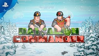 Battalion Commander - Gameplay Trailer | PS4, PS Vita