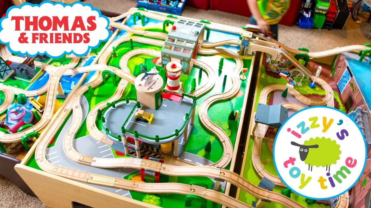 100 000 Subs Thomas And Friends Three Table Track Thomas