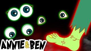 Halloween Night: Frankenstein Falls Apart | Cartoons for Children by The Adventures of Annie & Ben