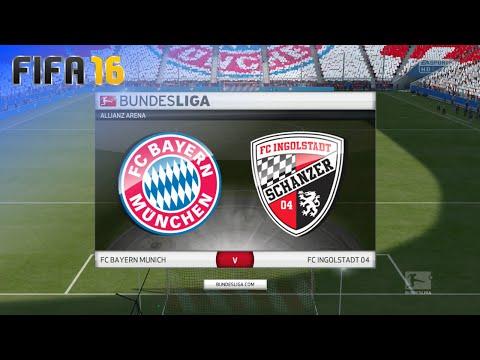 FIFA 16 - FC Bayern München vs. FC Ingolstadt 04 @ Allianz Arena (Season '16/'17)