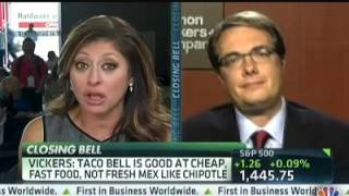 Damon Vickers challenges David Einhorn's short position on Chipotle (2012)