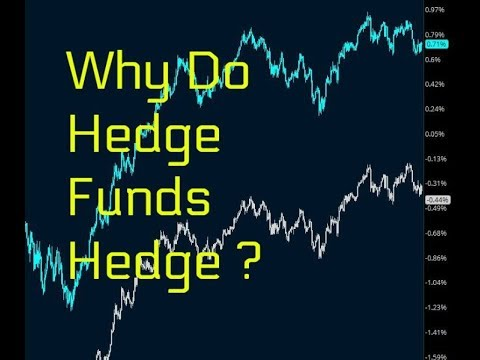 Why do Hedge Funds Hedge? with Live Trade with adjustments $SPY $QQQ